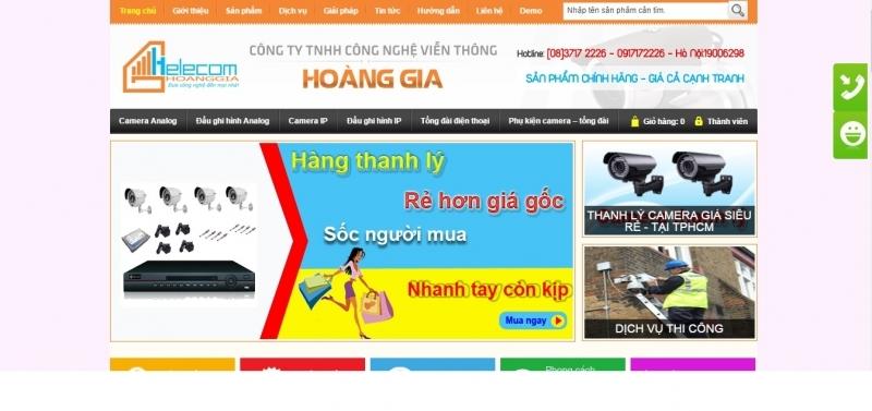 Công ty TNHH Viễn Thông Hoàng Gia (Hoàng Gia Camera)
