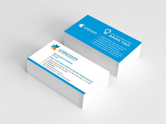 Vietadv có dịch vụ thiết kế card visit, công ty in card visit giá rẻ lấy liền trong ngày. Vietadv VN nhận in card visit số lượng lớn, in giá rẻ chỉ với 20.000 / hộp.