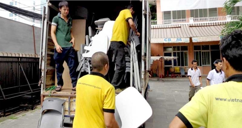 Quá trình vận chuyển chuyên nghiệp của Vietnam Moving