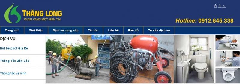 Công ty TNHH xây dựng vệ sinh môi trường Thăng Long