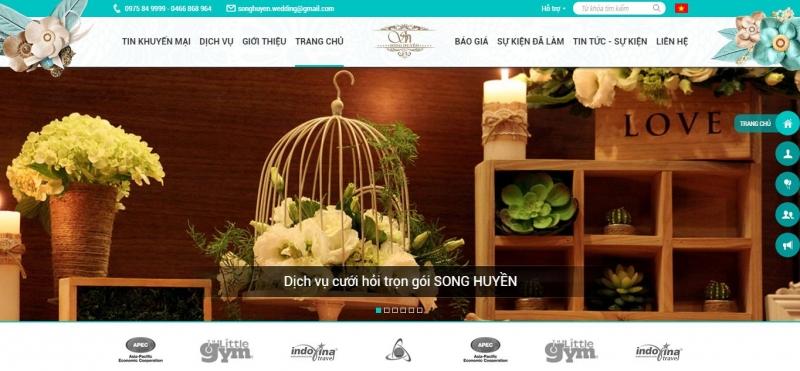 Công ty TNHH tổ chức sự kiện cưới hỏi Song Huyền