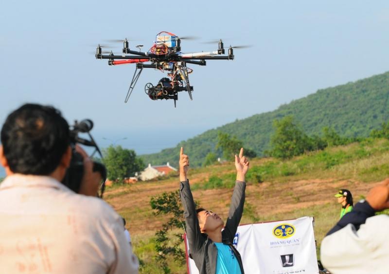 Flycam của công ty Top Việt đảm bảo chất lượng số một cho khách hàng.