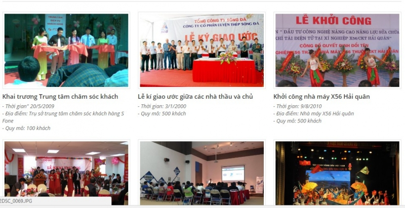 Một số hình ảnh dự án công ty đã thực hiện.