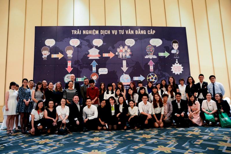 Hội thảo tư vấn du học Vietint
