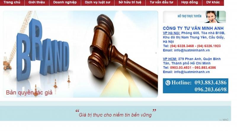 Công ty tư vấn Minh Anh