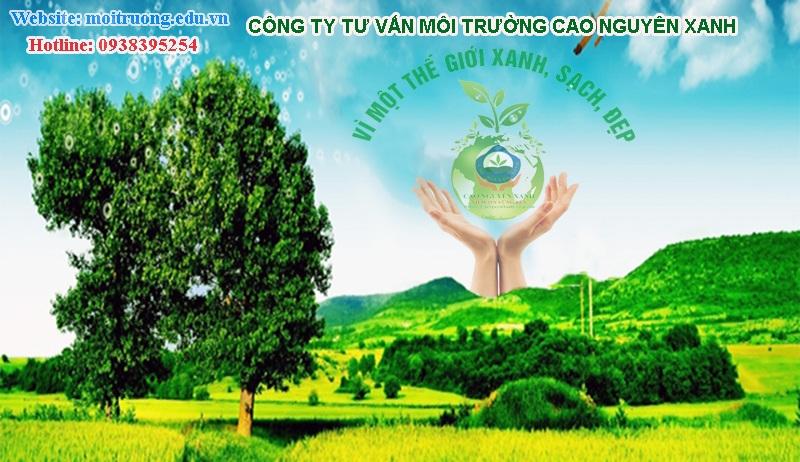 Công ty tư vấn môi trường Cao Nguyên Xanh