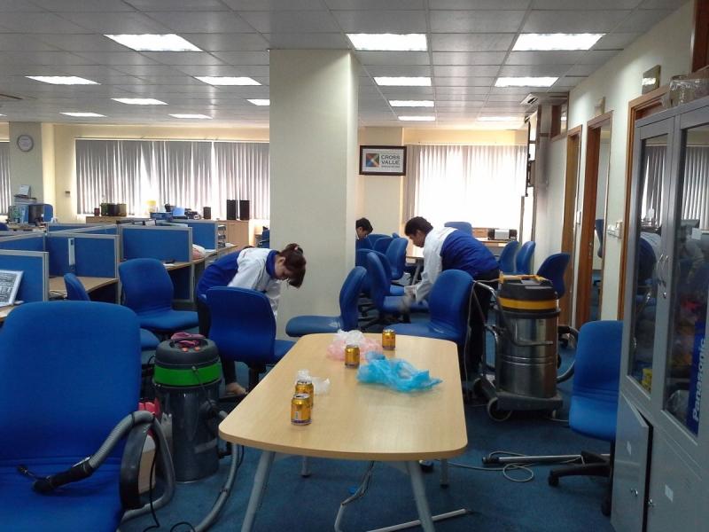 Dịch vụ vệ sinh công nghiệp Trang Dung
