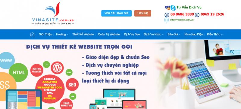 Công Ty Vinasite Việt Nam   Vinasite.com.vn