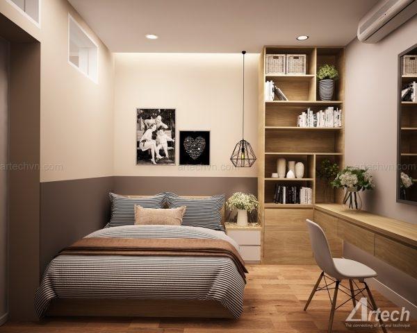 Mẫu thiết kế nội thất của công ty Artech