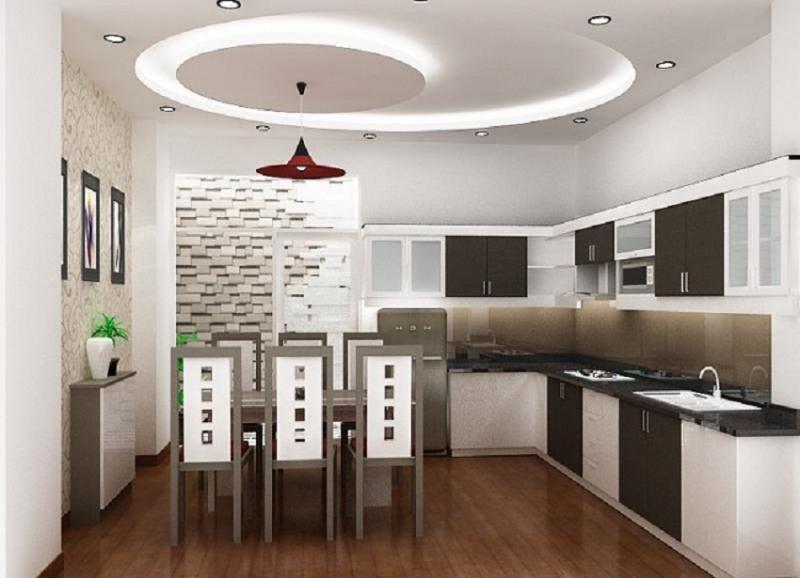 Trần thạch cao với thiết kế sang trọng, làm rộng hơn không gian nhà bạn