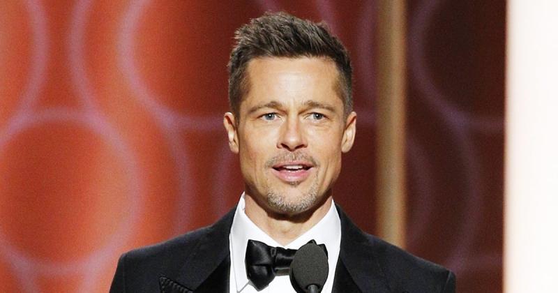 Brad Pitt tại Lễ trao Giải Quả cầu vàng lần thứ 74