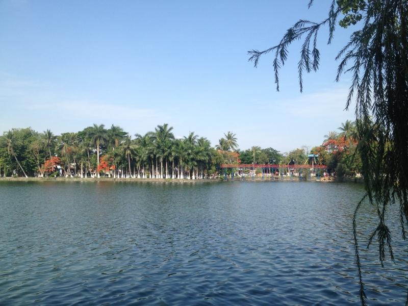 Công viên được xem là