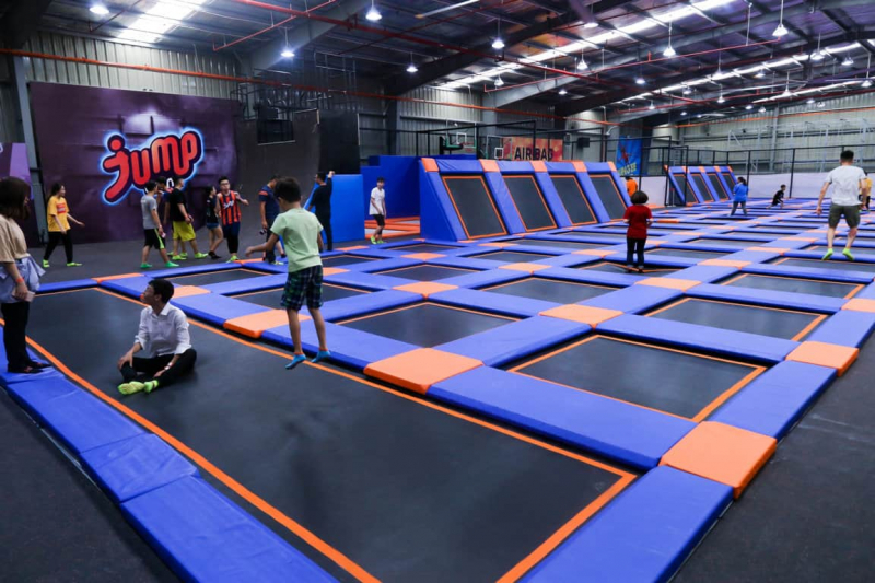 Công viên bạt nhún Jump Arena