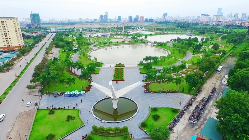 Top 10 công viên đẹp nhất Hà Nội