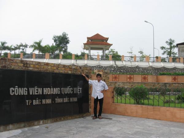 Công viên Hoàng Quốc Việt - TP bắc Ninh