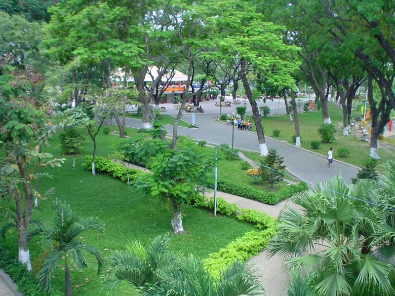 Hình ảnh công viên Hoàng Văn Thụ