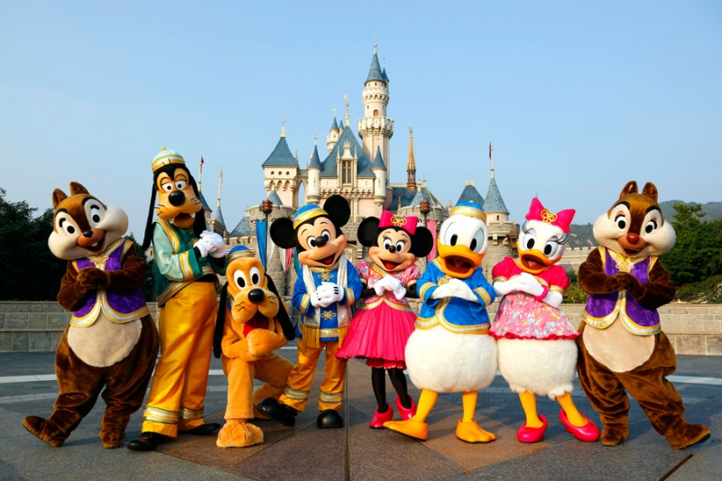 Công Viên HongKong Disneyland
