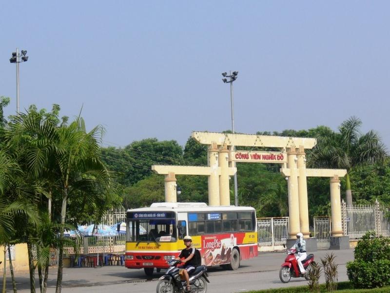 Cổng Công Viên Nghĩa Đô