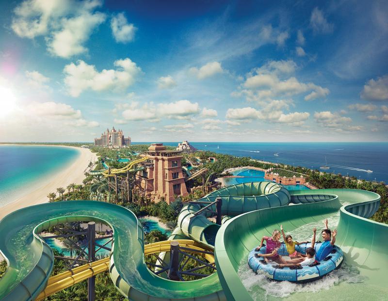 Công viên nước Aquaventure, Dubai, Các tiểu vương quốc Ả Rập thống nhất