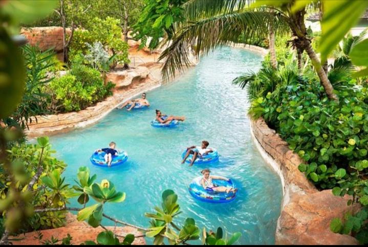 Công viên nước Aquaventure, Nassau, đảo New Providence, Bahamas