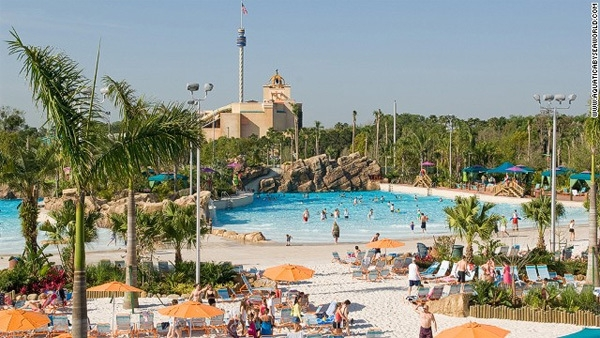 Công viên nước Disney's Typhoon Lagoon, Orlando, Florida, Mỹ