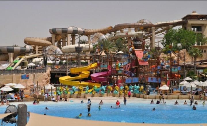 Công viên nước Wild Wadi, Dubai, Các tiểu vương quốc Ả Rập thống nhất.