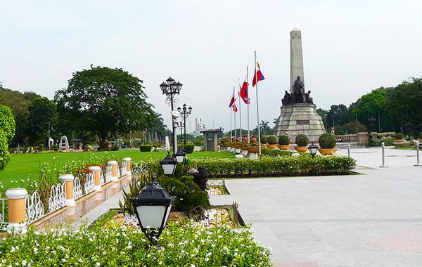 Công viên Rizal là một trong những không gian xanh thư giãn nổi tiếng nhất của Manila