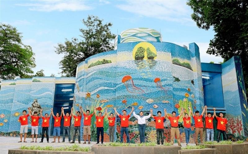 Công viên Thống Nhất đồng hành cùng đội tuyển u23 - Việt Nam