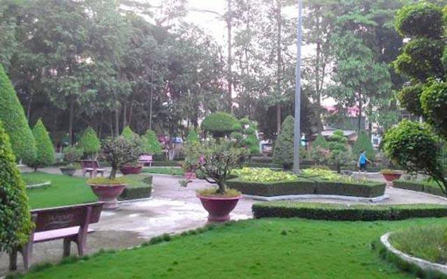Công viên thành phố Vĩnh Long