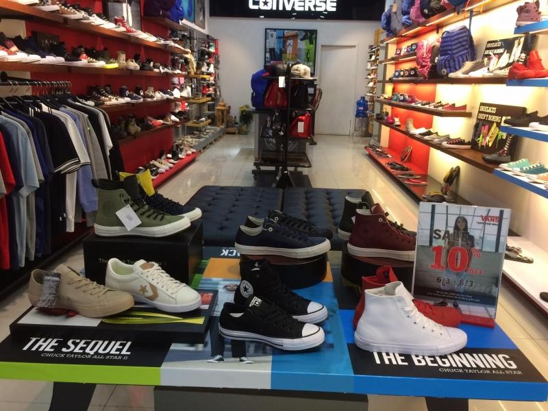 Converse Cầu Giấy - cửa hàng bán giày chất lượng tại Hà Nội