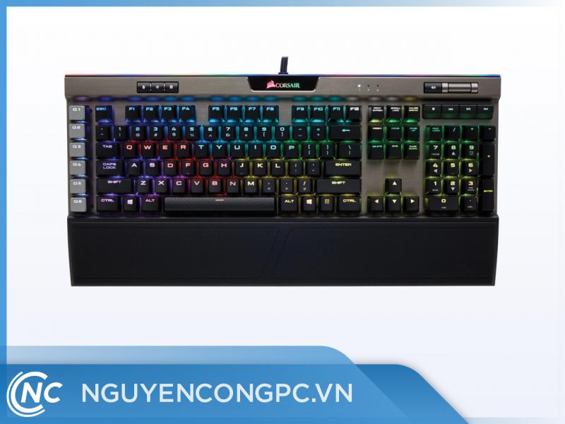Thiết kế siêu ngầu cho game thủ với bàn phím Corsair