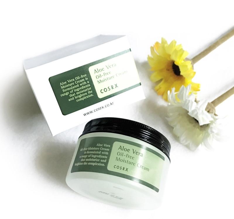 Kem dưỡng ẩm Cosrx Aloe Vera oil-free Moisture Cream có chiết xuất từ lá lô hội