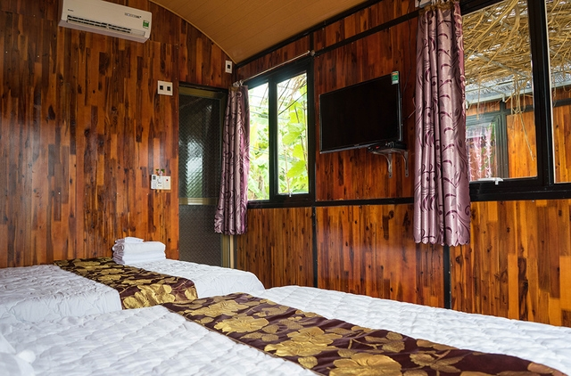 Không gian phòng nghỉ tại Coto Garden