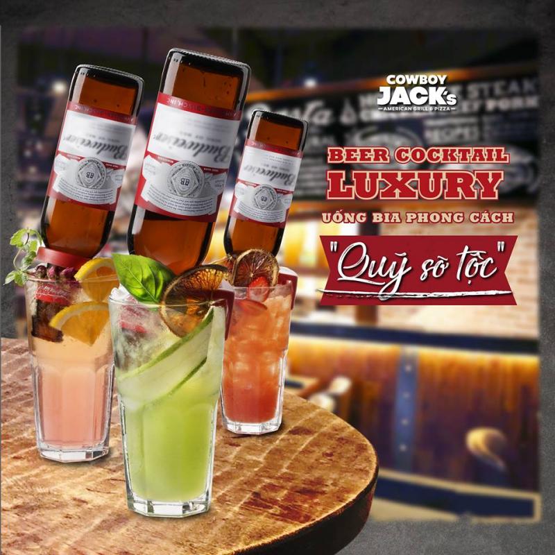 Beer Cocktail Luxury tại Cowboy Jacks