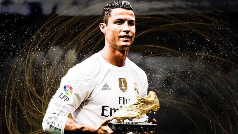 Ronaldo đã có chiếc giày vàng thứ 4 trong sự nghiệp.