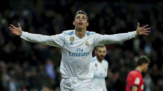 Ronaldo là một trong những cầu thủ được yêu thích nhất
