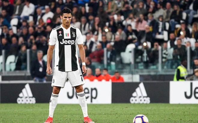 Cristiano Ronaldo sút phạt
