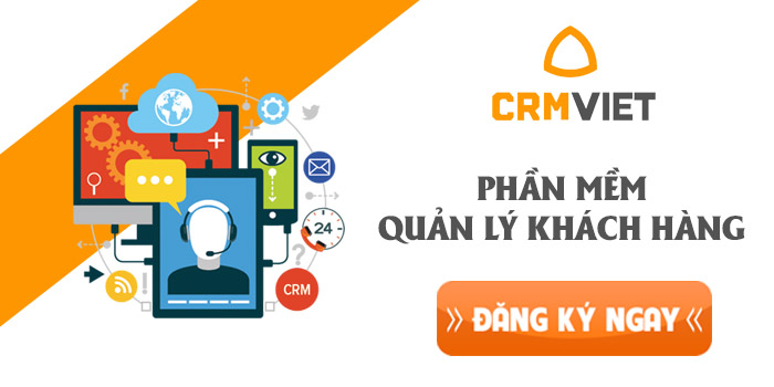 Phần mềm quản lý bán hàng CRM Viet