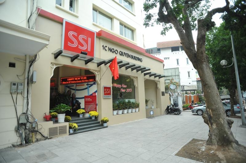 Một trụ sở của Công ty chứng khoán Sài Gòn SSI
