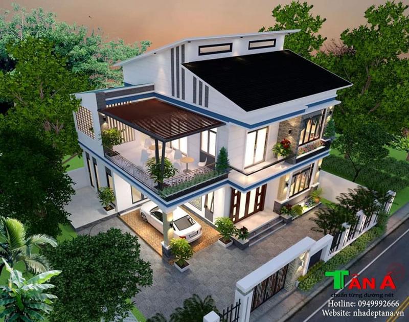 Top 5 Dịch vụ  thiết kế nhà, biệt thự đẹp và uy tín nhất TP. Vinh, Nghệ An