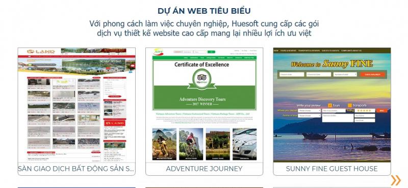Top 8 công ty thiết kế website uy tín, chuyên nghiệp nhất tại Huế