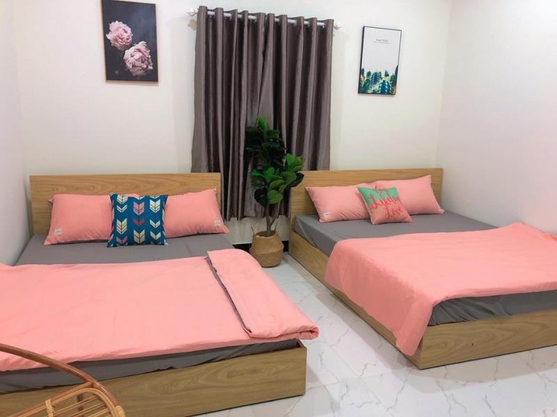 Nội thất phòng hai giường