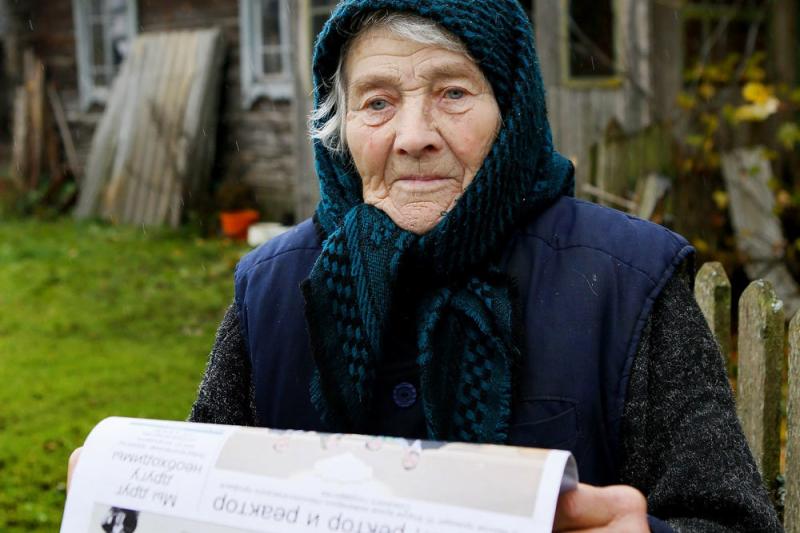 Cụ bà Maria Kononovich là một trong số ít những người sống thọ nhất thế giới chưa được xác minh tuổi chính thức.