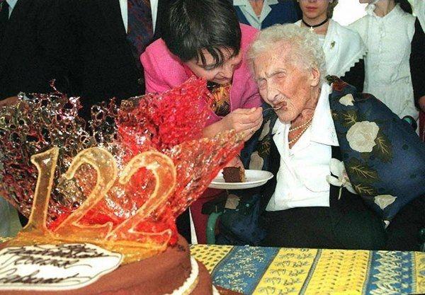 Cụ Jeanne Calment hưởng thọ 122 tuổi 164 ngày
