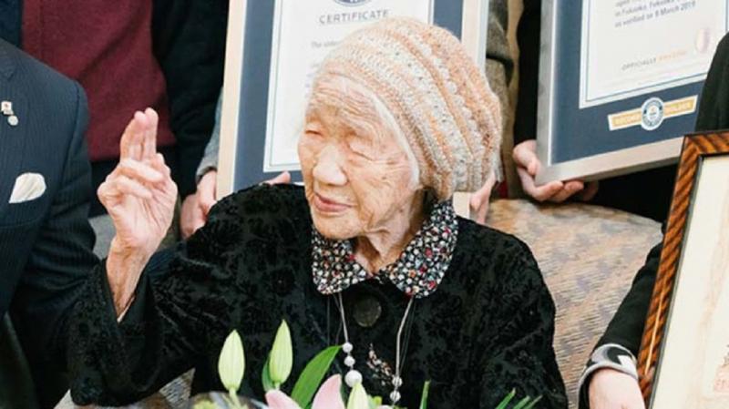 Cụ bà Kane Tanaka tính đến tháng 3 năm 2020 là tròn 117 tuổi 66 ngày