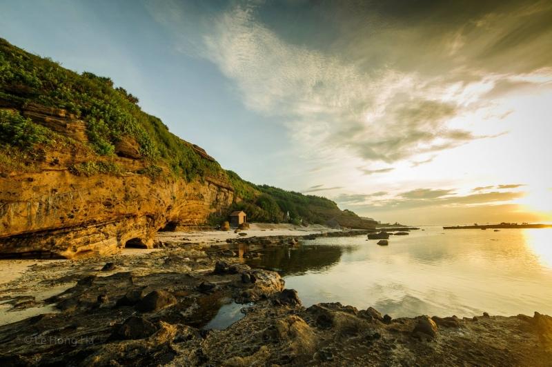 Đảo Lý Sơn được hình thành từ địa chấn núi lửa