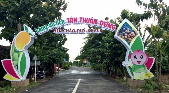 Làng du lịch Tân Thuận Đông