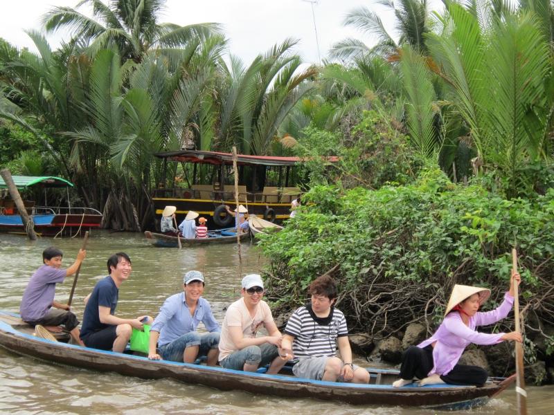 Du lịch sông nước tại cù lao Thới Sơn