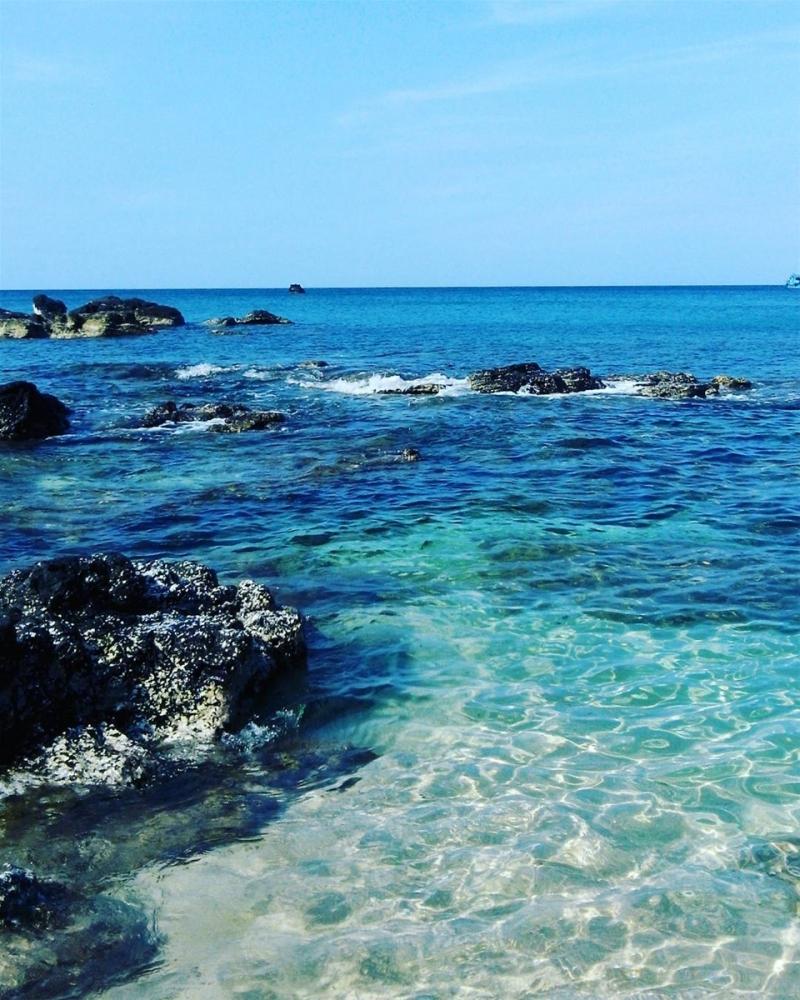 Làn nước trong xanh của Cù Lao Thu