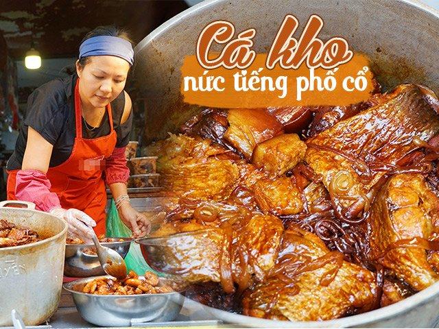 Top 6 địa chỉ bán cá kho ngon nhất Hà Nội